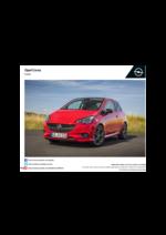 Tarifs opel : Tarifs Opel Corsa