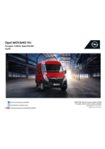Tarifs opel : Opel movano Les tarifs
