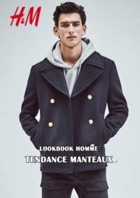 Catalogues et collections H&M Cergy : Lookbook homme Tendance manteaux