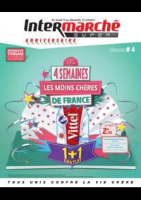 Prospectus Intermarché Super Bondy : Les 4 semaines les moins chères de France. Semaine 4