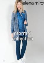 Promos et remises  : Lookbook Informal collection