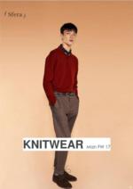 Catálogos e Coleções Sfera : Lookbook homme FW 17: Knitwear