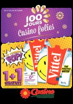 Prospectus Supermarchés Casino : Les 100 jours Casino folies V