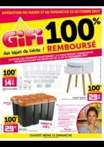 Prospectus Gifi : 100% remboursé