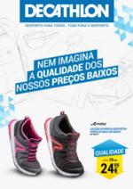 Folhetos DECATHLON : Nem imagina a qualidade dos nossos preços baixos