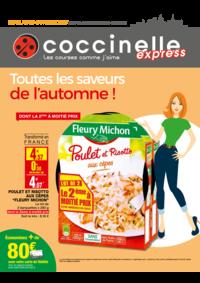 Prospectus Coccinelle Express BOULOGNE BILLANCOURT : Toutes les saveurs de l'automne !