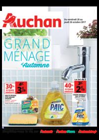 Prospectus Auchan Plaisir : Grand ménage d'automne