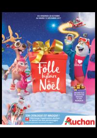 Catalogues et collections Auchan Plaisir : La folle histoire de Noël