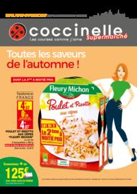 Prospectus Coccinelle Supermarché PARIS 108/110 RUE DES PYRENEES : Toutes les saveurs de l'automne !