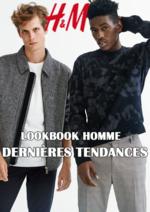Catalogues et collections H&M : Lookbook homme Dernières tendances