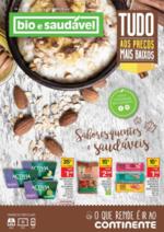 Folhetos Continente Modelo : Sabores quentes e saudáveis