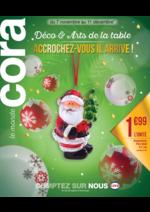 Prospectus Cora : Déco & art de la table accrochez-vous il arrive !