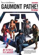 Journaux et magazines Gaumont Pathé! : Feuilletez le magazine du mois de Novembre 2017