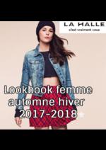 Catalogues et collections La Halle : Lookbook femme automne hiver 2017-2018