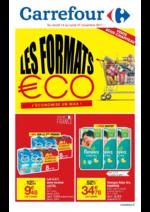 Prospectus Carrefour : Les formats €co j'économise un max !