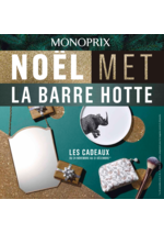 Catalogues et collections Monoprix : Noël met la barre hotte : les catalogues