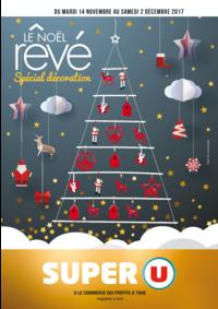 Prospectus Super U ST VIT : Le Noël rêvé spécial décoration