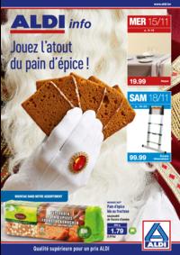 Prospectus Aldi ANDERLECHT Renard : Jouez l'atout du pain d'épice !