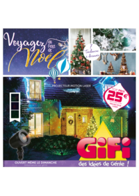 Prospectus Gifi LONGPONT SUR ORGE : Voyagez au pays de Noël