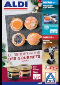 Prospectus Aldi : Le rendez-vous des gourmets