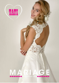 Catalogues et collections Tati ST DENIS : Mariage Collection 2018