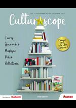 Prospectus Auchan : Culturoscope. En attendant minuit...