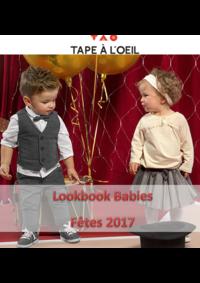 Catalogues et collections Tape à l'oeil SARCELLES : Lookbook Babies : Fêtes 2017