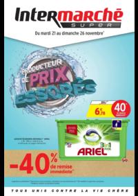 Prospectus Intermarché Super Villeneuve Saint-Georges : Producteur de prix degraissés