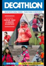 Folhetos DECATHLON : Neste Natal partilhe todas as emoções do desporto