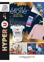 Prospectus Hyper U : Le Noël étoilé spécial cadeaux, décoration, culture