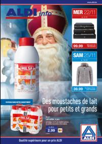 Prospectus Aldi ANDERLECHT Renard : Des moustaches de lait pour petits et grands