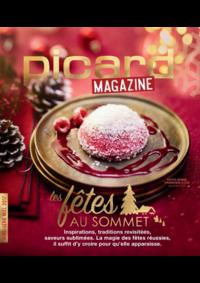 Journaux et magazines Picard DRANCY : Picard Mag : Les fêtes au sommet