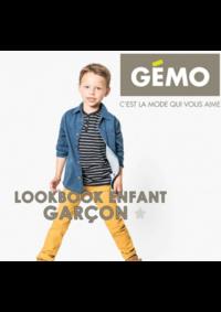 Catalogues et collections Gemo GENNEVILLIERS : Lookbook enfant garçon