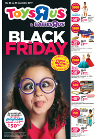 Prospectus Toys R Us VILLEBON sur YVETTE : Black friday