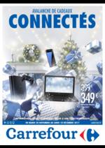 Prospectus Carrefour : Avalanche de cadeaux connectés