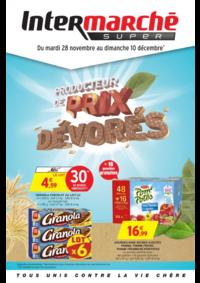 Prospectus Intermarché Super Orgeval : Producteur de prix dévorés