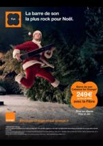 Prospectus Orange : La barre de son la plus rock pour Noël