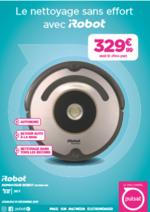 Promos et remises Pulsat : Aspirateur iRobot seulement à 329€