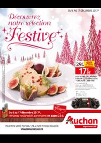 Prospectus Auchan Supermarché Launaguet : selection festive