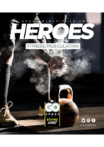 Guides et conseils Go Sport : Guide Go Sport Heroes Fitness et musculation