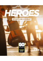 Guides et conseils Go Sport : Guide Go Sport Heroes Sports de combat