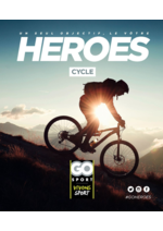 Guides et conseils Go Sport : Guide Go Sport Heroes Cycle