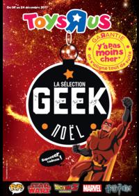 Prospectus Toys R Us TOURVILLE LA RIVIERE : La sélection geek Noël