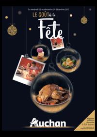 Prospectus Auchan Melun Senart Cesson : Le goût de la fête