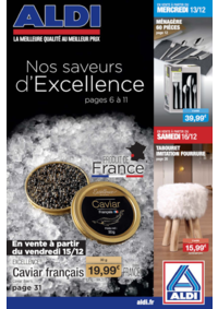 Prospectus Aldi Corbeil-Essonnes : Nos saveurs d'excellence