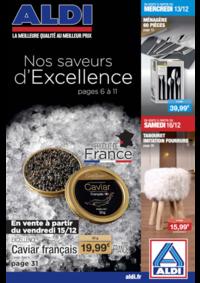 Prospectus Aldi Draveil : Nos saveurs d'excellence