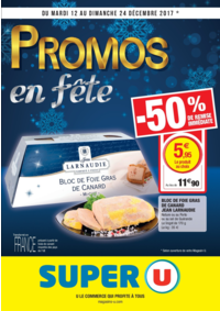 Prospectus Super U MONTREUIL - R. NOUV. FRANCE : Promos en fête