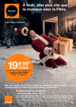 Prospectus  : A Noël, aller plus vite que la musique avec la Fibre