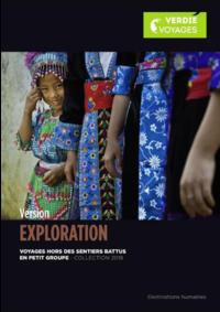 Catalogues et collections Verdié Voyages Montauban : Découvrez la brochure Version Exploration