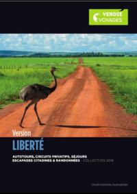 Catalogues et collections Verdié Voyages Toulouse - Allées J.Jaurès : Brochure Version Liberté